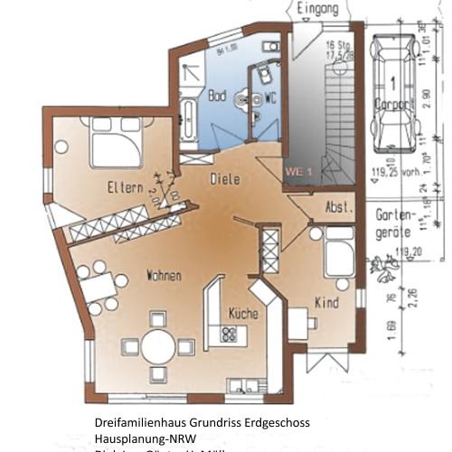 Bauplanung für Ihr Mehrfamilienhaus